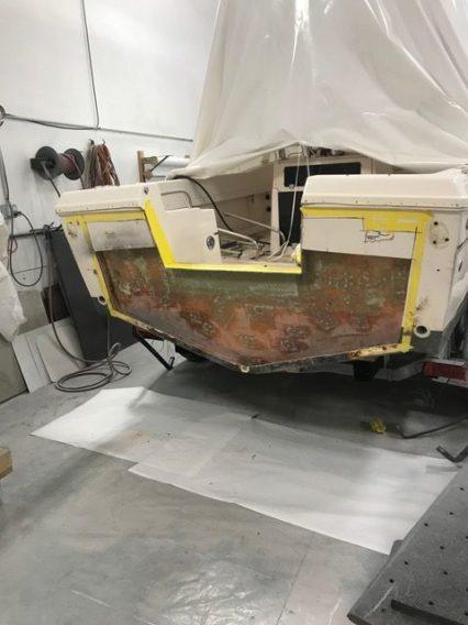 Transom Repair 3